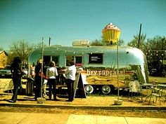 eating dinner at a food trailer is part of the fun of Austin- you can get everything from duck to doughnuts, cake balls to cupcakes. http://www.foodtrailersaustin.com/ Moving to the Austin area? Allow us to find your new home- www.relogroup.com