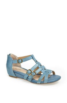 Softspots Leather Wedge Sandal available at #Nordstrom