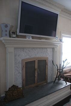 custom bronze fireplace by Ben Westbrook