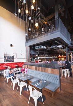 Jaime Oliver's new hot spot, Jamie's Italian, done by Blacksheep in Westfield, Stratford City