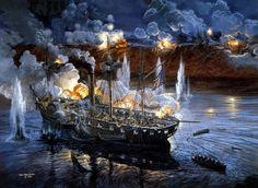 DF9.jpg (1168×856)SS Mississippi, 3.200 t, 8 nudos, armado con diez piezas de 250 mm y ocho de 200. El 14 de Marzo de 1863 intenta, junto a otros seis buques, forzar el paso hacia Port Hudson, pero queda encallado frente a uno de sus fuertes. Finalmente se ordena el abandono del buque, cuya santabárbara es volada para evitar su caída en manos confederadas. 64 hombres se perdieron junto al buque.