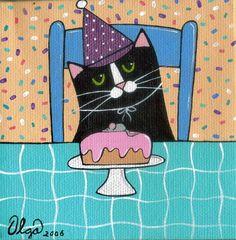 birthday boy by Susan Olga Linville   ArtWanted.com