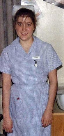 1 stripe - 1st year Student Nurse 1980s.