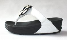 FitFlop Rose Mild Sandals White $66.00. Save: 45% off. Model: Flip129