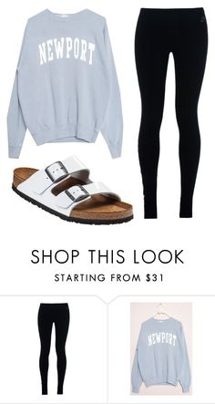 """Untitled #786"" by brennahobgood ❤ liked on Polyvore featuring NIKE and Birkenstock"