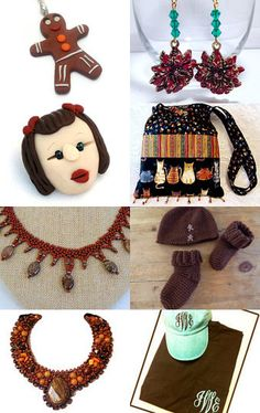 Gingerbread Men and More!     team unity group 4 by Patti Richmond Mills on Etsy--Pinned with TreasuryPin.com