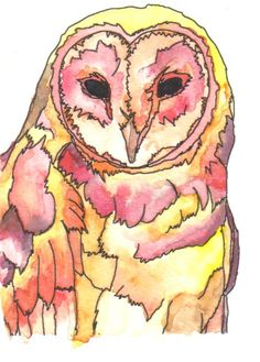 Google Image Result for http://www.deviantart.com/download/174954304/Watercolor_and_Ink_Owl_by_LiQuIdxImAgInAtIoN.jpg