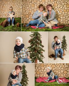 Here is the wood set we constructed for this year's studio Christmas photo Event. #cedar #wood #studio #christmas #photo #holiday #portrait