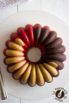 Neapolitan Bundt Cake