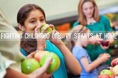 Fighting childhood #obesity starts at home. Learn how to prevent it within your own family. #healthyeating #TAMHSC