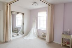 Our main fitting-room  Spacious, comfortable & relaxed. The perfect surroundings when choosing your dream dress