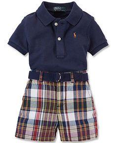 0d1e9989d Polo Ralph Lauren Baby Boys  2-Piece Polo Shirt  amp  Shorts Set  55.00