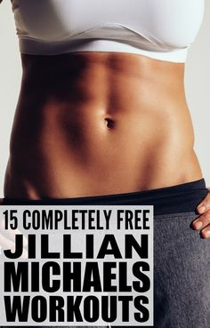 Trying to get back in shape, but don't have the time to make it to the gym? Jillian Michaels can help you with that! Her 30 day shred is one of many at home workouts for women that will help you burn calories and build muscle. There are heaps of different workouts to choose from - yoga, full body, abs, arms, cardio, and legs - and while some use weights, most require no equipment whatsoever. Try them for free today and get into the shape of your life!