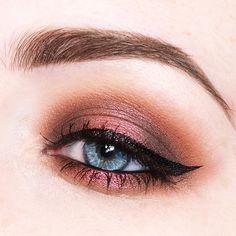 Little makeup practice using the @zoevacosmetics Cocoa Blend Eyeshadow Palette  #makeup #eyeshadow #zoeva #cocoablend #beauty #look #inspiration #warm #chocolate #cocoa by beautycloudnl