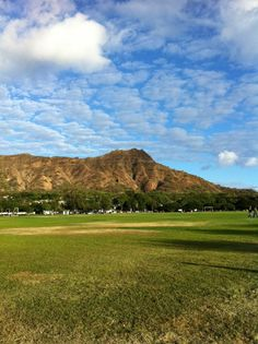 Perfect day for a run in Kapiolani Park!