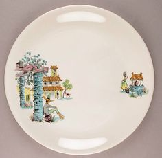 Alfred Meakin England Plate Siesta 1950s Mexico Spain Fifties Retro Vintage