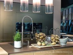 Sable brown color trend in kitchen surfaces spotted at eurocucina |  | The Decorating Diva, LLC #kitchen #design #trends