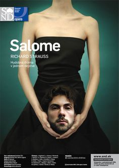 Salome | Slovak National Theatre | Opera | Image Campaign | Performing Arts | Richard Strauss | Poster | www.josellopis.com