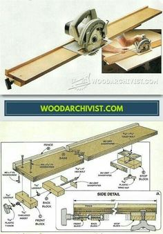 Woodworking Workshop, Woodworking Jigs, Woodworking Projects, Serra Circular, Circular Saw, Wood Tools, Diy Tools, Diy Wood Projects, Wood Crafts