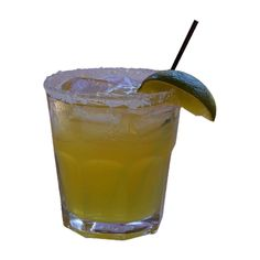Margarita on the Rocks ❤ liked on Polyvore featuring food, drinks, food and drink, food & drink and alcohol