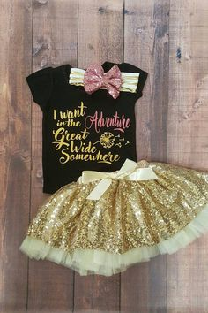 Baby girl clothes, infant Disney outfits, I want adventure in the great wide somewhere tops, beauty and the beast Disney Babys, Disney Girls, Disney Outfits, Trendy Baby Girl Clothes, Infant Girl Clothes, Disney Baby Clothes Girl, Babies Clothes, Girl Clothing, Fashion Clothes
