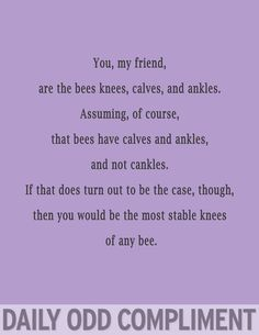 """Bees Knees"""