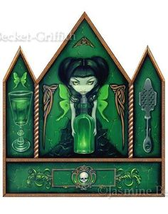 Absinthe Fairy by Jasmine Becket-Griffith