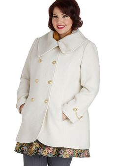 On the Way Home Coat in Plus Size, #ModCloth
