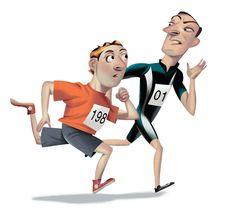 The Polite Runner's guide to Race Etiquette on Behance