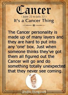 #cancers