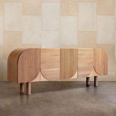 """Kelly Wearstler Gallery on Instagram: """"The Palma Cabinet celebrates a harmonious juxtaposition of scale and texture. This casual credenza features naturally finished White Oak…"""" Oak Sideboard, Modern Sideboard, Credenza, Sideboard Ideas, Custom Furniture, Luxury Furniture, Furniture Design, Cool Furniture, Furniture Ideas"""