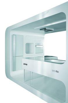 Futuristic Kitchen futurystyczna kuchnia gorenje/futuristic kitchen gorenje