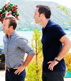 Steve McGarrett // Danny Williams // Hawaii five 0