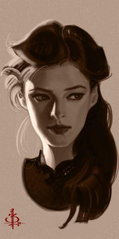 Timed Head Sketch 480 by FUNKYMONKEY1945.deviantart.com on @deviantART