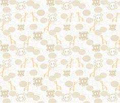 This #skull & giraffe fabric is the perfect addition to a rocker chic #nursery! Perfectly paired with black & white! #pinparty