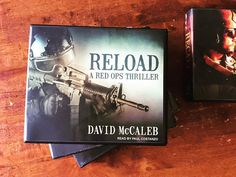 Love the new audiobook cover for RELOAD! #bookcover #redopsthriller #bookbuzz