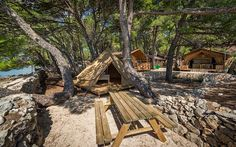 View the Bell Tent Luxury Glamping, Bell Tent, Lodges, Videos, Safari, Europe, Cabin, House Styles, Instagram