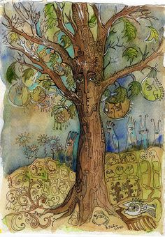 Talking Tree by usova, via Flickr