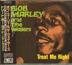 Japanese Album cover, Bob Marley, eil.com
