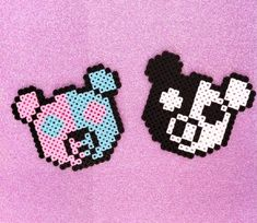 cat ears perler beads pattern - Google Search