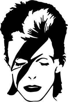David Bowie - Ziggy Stardust crochetAfghan/ blanket PATTERN from FayLorraines on Etsy Studio David Bowie Music, David Bowie Art, David Bowie Ziggy, David Bowie Tattoo, Pop Art, David Bowie Lightning Bolt, Bowie Ziggy Stardust, Desenho Tattoo, Stencil Art