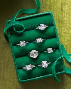 It doesn't hurt to browse; in fact, it can help you make your choice. Visit jewelry and antiques stores and try on different styles to learn what suits your hand and reflects your personality.