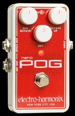 EHX.com | Nano POG - Polyphonic Octave Generator | Electro-Harmonix