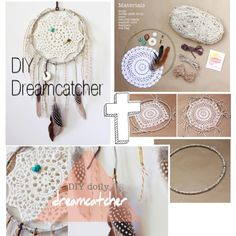 DIY Dreamcatcher by the-hipster-tip-sisters on Polyvore