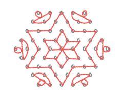 Diwali Rangolis/ Kolams in 5 simple steps. Easy for kids to participate