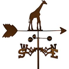Giraffe Weathervane