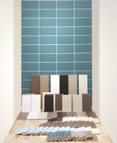 Graffiti e' una proposta Tonalite. 8 textures sviluppate in 10 colori  coordinabili alla collezione Floor come in questa realizzazione presentata a Cersaie 2016
