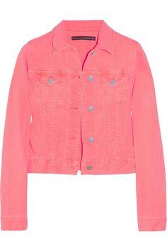 Christopher Kane Neon Stretch-denim Jacket