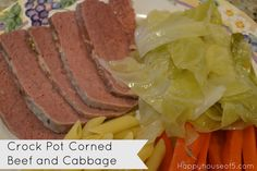 Happy House of 5: Crock Pot Corned Beef and Cabbage