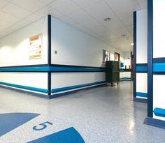 Hospital Wall Protection Hallways Pinterest Wall